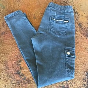 {American Clothing Inc} Olive Skinny Jeans.